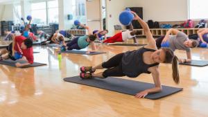 Toronto fitness class